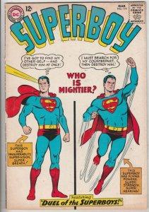 Superboy #119 (Mar-65) FN/VF Mid-High-Grade Superboy