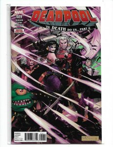 Marvel Comics DEADPOOL #29 first printing NM  nw95