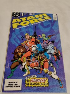Atari Force 1 Near Mint Cover by Garcia-Lopez