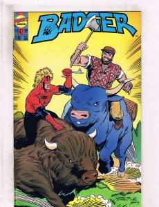 Lot of 5 Badger First Comic Books #42 43 44 45 46 WT5