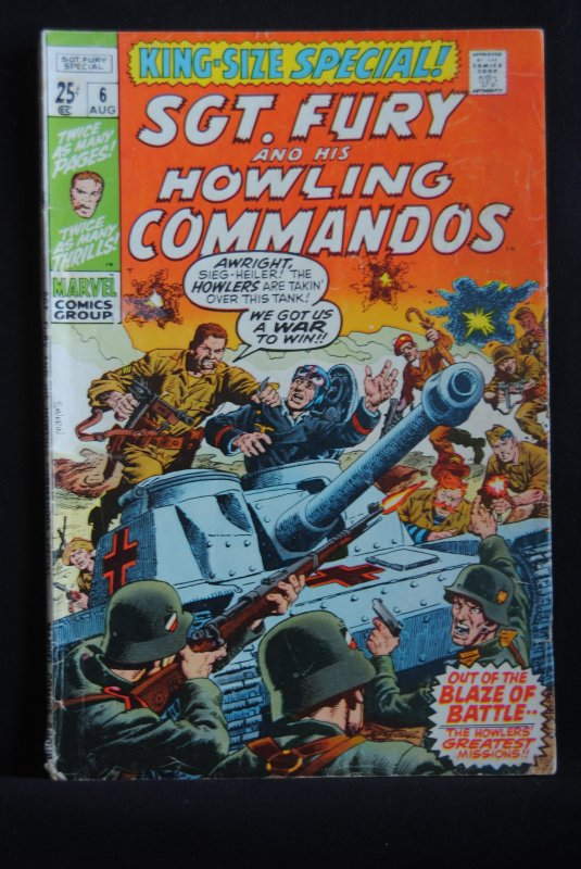 Sgt. Fury and his Howling Commandos, King Size Special #6