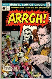 ARRGH! (1974) 2 VG-F Feb. 1975