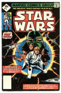 Star Wars #1 1977 2nd print Marvel Key Issue bronze-age comic book