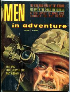 Men In Adventure October 1960- Nazi A-Bomb- Hugh Miller- Victor McLaglen