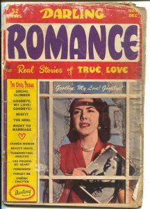 Darling Romance #2 1949-photo cover-headlight panels-spicy poses-FR