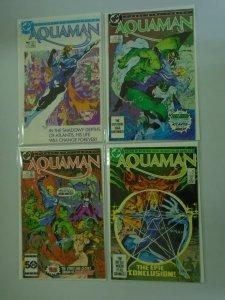 Aquaman set #1-4 8.0 VF (1986 1st Limited Series)