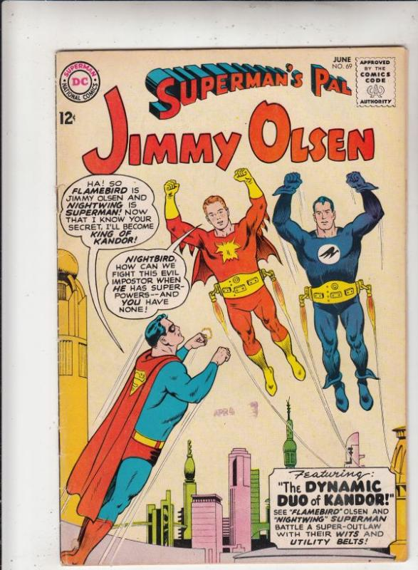 Superman's Pal Jimmy Olsen #69 (Jun-63) VF High-Grade Jimmy Olsen