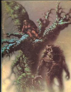 Rocket's Blast ComiCollector #83 1969-G B Love-Richard Corben horror cover-VG