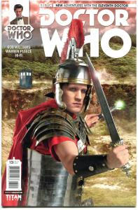 DOCTOR WHO #13 B, NM, 11th, Tardis, 2014, Titan, 1st, more DW in store, Sci-fi