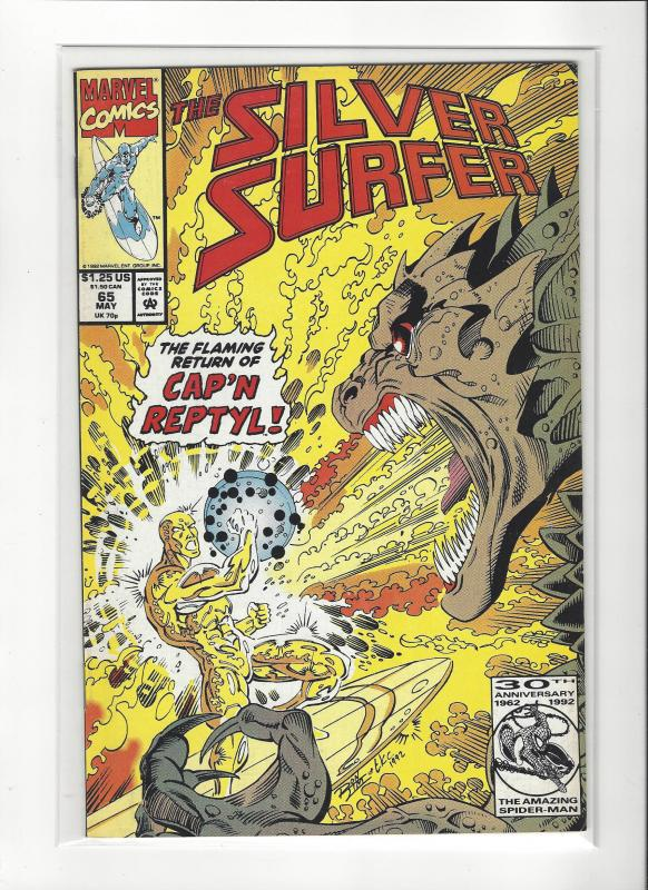 Silver Surfer #65 Marvel Comics Ron Lim NM