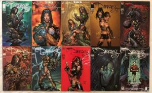 DARKNESS - 10 Issue Comic Lot - #7, 9, 10, 11 Variants, 13, 14, 23, 113 - Ennis