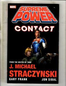 Supreme Power Contact Marvel Comics TPB Graphic Novel Comic Book Straczynsk J352