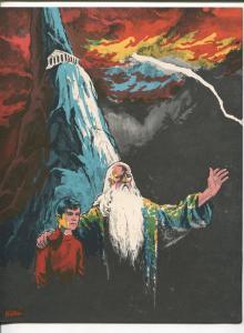 ROCKET'S BLAST SPECIAL #6 1960'S-CAPTAIN MARVEL-ORIGIN-DON NEWTON ART-vf