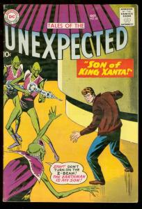TALES OF THE UNEXPECTED #42 1959   3RD SPACE RANGER  DC FN-