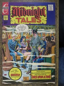 MIDNIGHT TALES 4 FINE  7/1973 Charlton COMICS BOOK