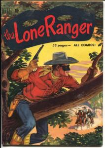 The Lone Ranger #33 1951-Dell-Red Shirt issue-Tonto Silver-VF