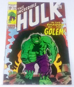 Incredible Hulk #134 (7.0) IN THE SHADOW OF...THE GOLEM!