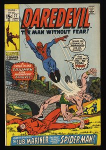 Daredevil #77 FN 6.0 Marvel Comics Spider-Man!