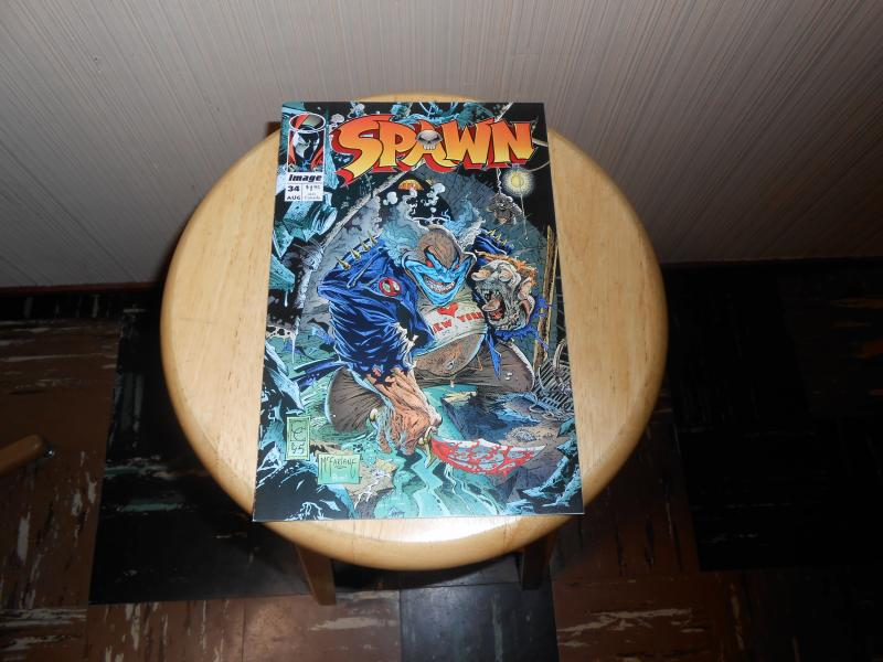 Spawn (1992) #34 Aug 1995 Cover price $1.95 Image