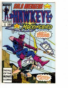 7 Marvel Comics Solo Avengers # 1 2 3 4 5 + Hawkeye # 2 3 Hulk Thor Iron Man RM4