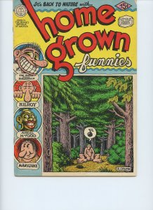HOME GROWN FUNNIES / 10th Print / Jan. 1971 / Kitchen Sink Enterprises