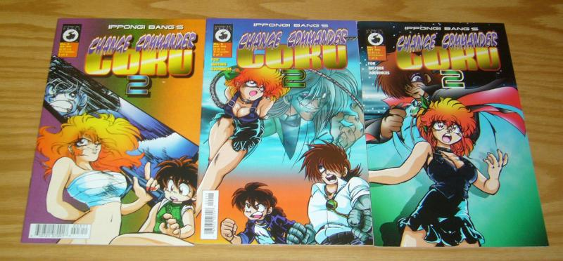 Ippongi Bang's Change Commander Goku 2 #1-3 VF/NM complete series - manga set 2