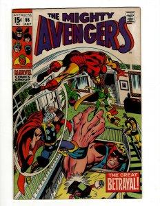 Avengers # 66 VF/NM Marvel Comic Book Hulk Thor Captain America Iron Man OF2
