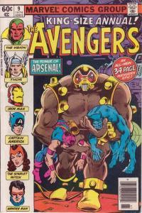 Avengers (1963 series) Annual #9, VF+ (Stock photo)