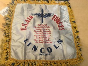 3 United States Military Silk Tapestries U.S. Air Forces Lincoln Ceremony JKT15
