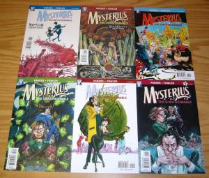 Mysterius the Unfathomable #1-6 VF/NM complete series - jeff parker - wildstorm