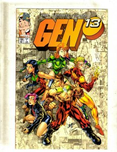 Lot Of 11 Gen 13 Image Comic Books # 13A 13B 13C 14 18 19 20 25 27 28 2 RP4
