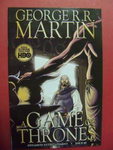 A GAME OF THRONES #8 NM-/NM (9.2 - 9.4) OR BETTER   GEORGE R.R. MARTIN