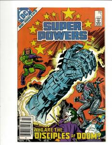 Lot Of 13 Comics SuperPowers Mini Series(1 2 3 5) of 5 Mini Series(2 4) of 4 WS4