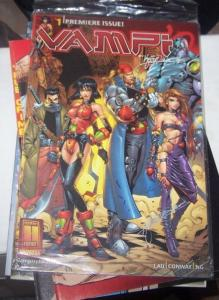 Vampirella's Vampi # 1 9 24  2000, Harris Comics rare kevin lau 2500 AUTOGRAPHED