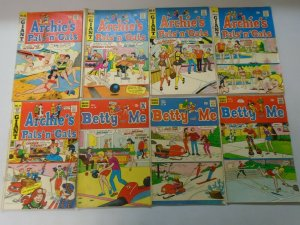 Silver + Bronze age Pals 'n' Gals + Betty and Veronica lot 28 different avg 4.0
