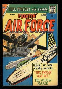 FIGHTIN' AIR FORCE #18 1959-CHARLTON WAR COMICS-WW II VF