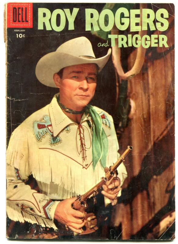 Roy Roger and Trigger #98 1956- Dell Western G