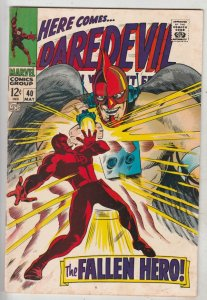 Daredevil #40 (May-68) FN/VF Mid-High-Grade Daredevil