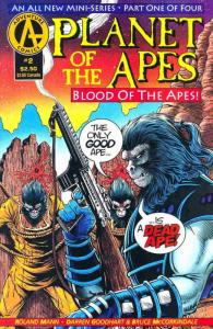 Planet of the Apes: Blood of the Apes #2 FN; Adventure   save on shipping - deta