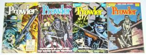 the Prowler #1-4 FN/VF complete series - tim truman - pulp hero - eclipse comics
