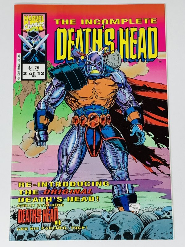 The Incomplete Death's Head (UK) #2 (1993) RA1