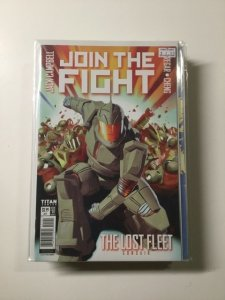 Join the Fight 1 Variant Near Mint Titan Comics HPA