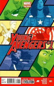 Young Avengers (2nd Series) #1 FN; Marvel   save on shipping - details inside