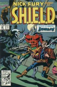 Nick Fury: Agent of SHIELD (1989 series) #30, NM- (Stock photo)