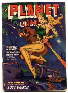 Planet Comics #66 1951- Fiction Hourse Golden Age- GGA cover
