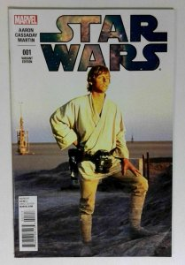 STAR WARS #1 Marvel 1984 VF LUKE SKYWALKER Movie Variant Comic Book