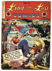 Land of the Lost #8 1947-MOON GIRL #1 ad-EC comic book