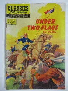 CLASSIC ILLUSTRATED #86 (G) UNDER TWO FLAGS (1ST Edition, HRO=87) Aug 1951