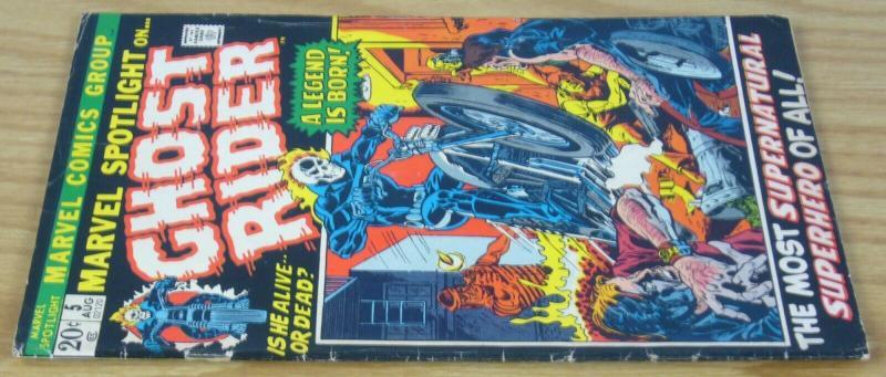 Marvel Spotlight (Vol. 1) #5 VG; Marvel | 1st appearance of ghost rider