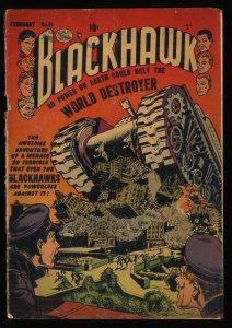 Blackhawk #61 FA/GD 1.5
